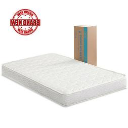 """Full Size Comfort Bunk Bed Spring Mattress 6"""" W/ Steel Coils"""
