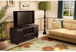 South Shore Large TV Stand with Doors and Drawer for TVs up