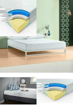 gel infused green tea memory foam mattress