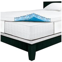 Serta Rest - Full - 3 Inch Gel Memory Foam Mattress Topper -