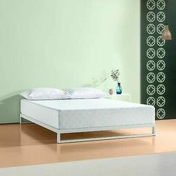Zinus 10 Inch Gel-Infused Green Tea Memory Foam Mattress, Fu