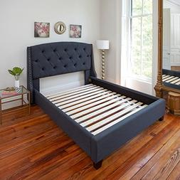 heavy duty twin wooden bed