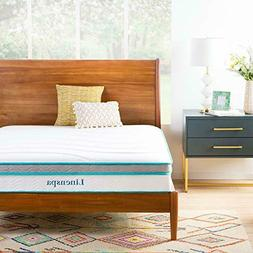 home 10 inch memory foam and innerspring