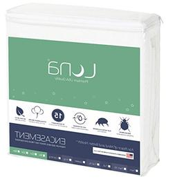 Luna Premium Hypoallergenic Zippered Bed Bug Proof Mattress