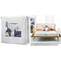 LINENSPA 6 Inch Innerspring Mattress - Full with AmazonBasic
