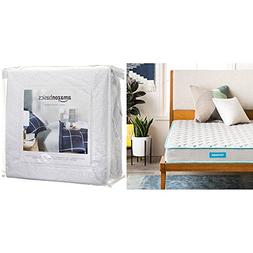LINENSPA 6 Inch Innerspring Mattress - Twin XL with AmazonBa