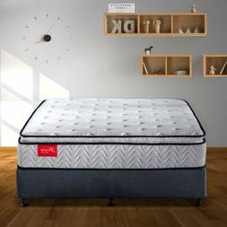 Innerspring Mattress Twin Pillow Top 11.4 Inch CFR 1633 Enca