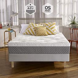 Sleep Innovations Shea 10 Memory Foam Mattress, King