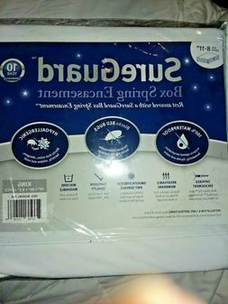 King Size SureGuard Mattress Protector - 100% Waterproof, Hy