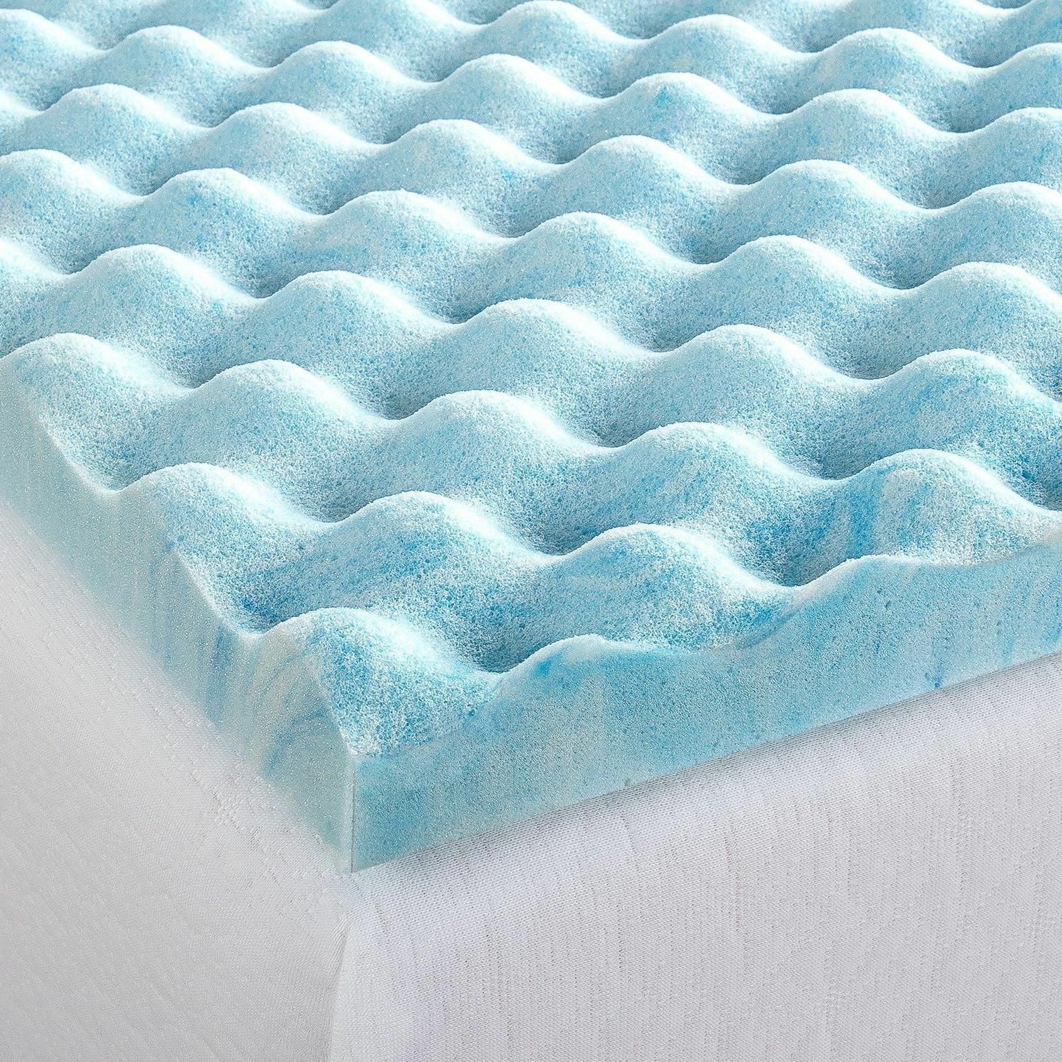 1.5/2/3/4 Inch Foam Topper Sleep Bed Pad Cover