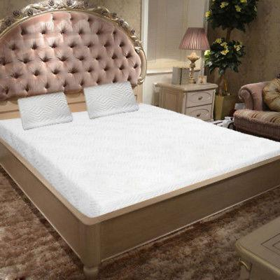 """10"""" Size Medium-Firm Bed White"""