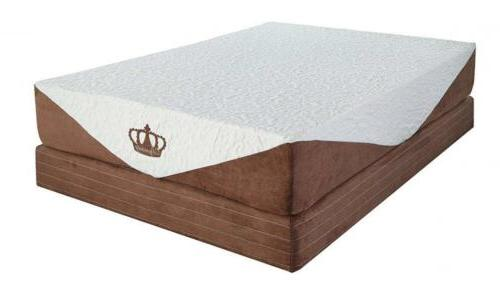 10 inch coolbreeze gel memory foam mattress