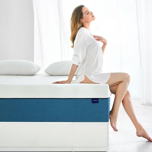 Molblly 8 Inch Full Size Memory Foam Mattress More Breathabl