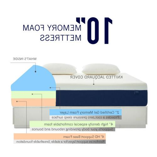 10 Inch Size Gel Mattress Box