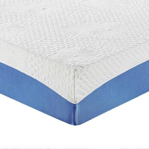 10 Inch Gel Infused Layer Memory Foam Mattress