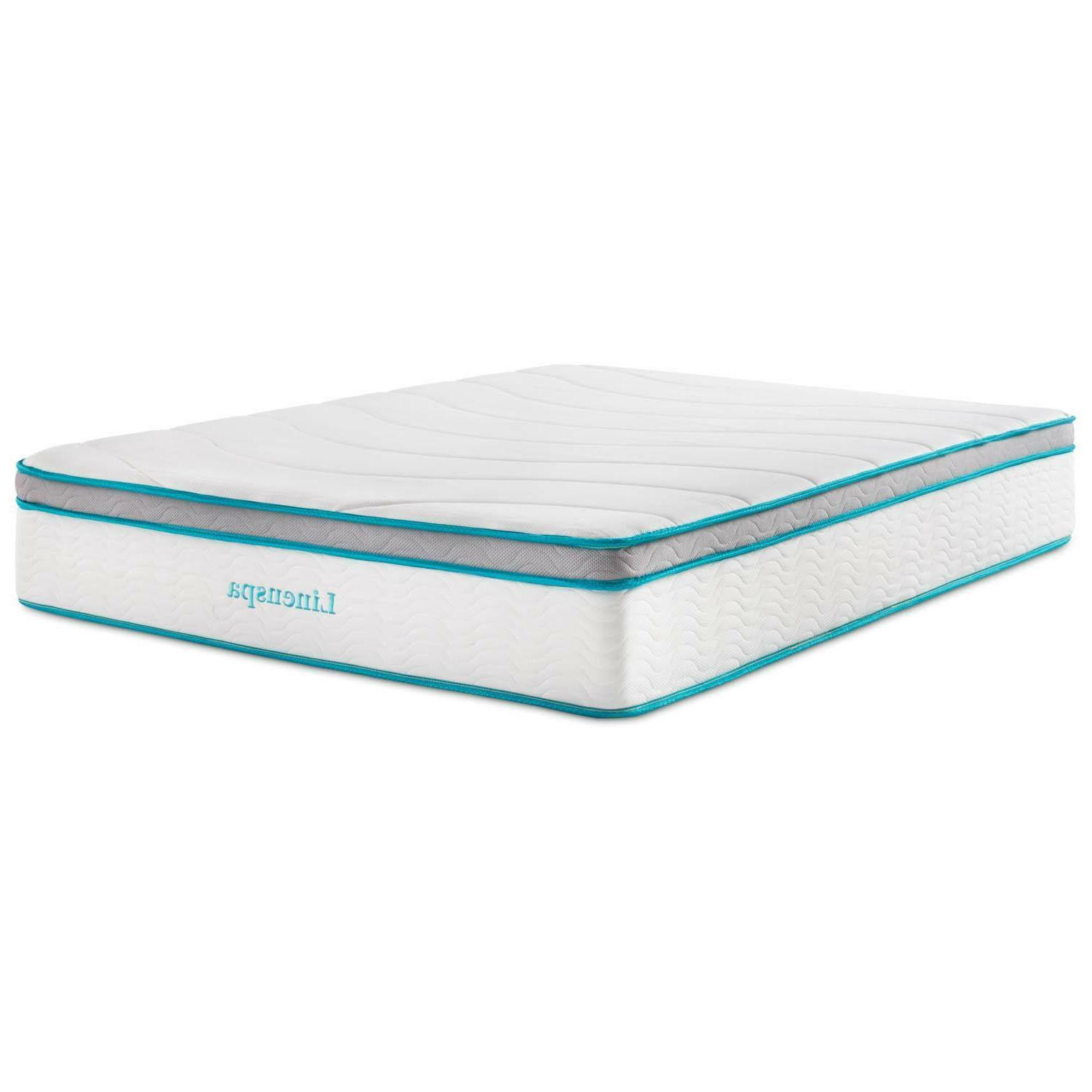 LINENSPA 12 Inch Memory Foam - Ultra Quilted Cover