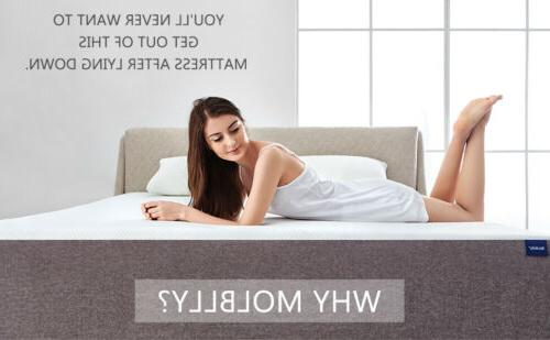 Molblly Size Memory Foam Mattress More Comfortable Bed Mattress