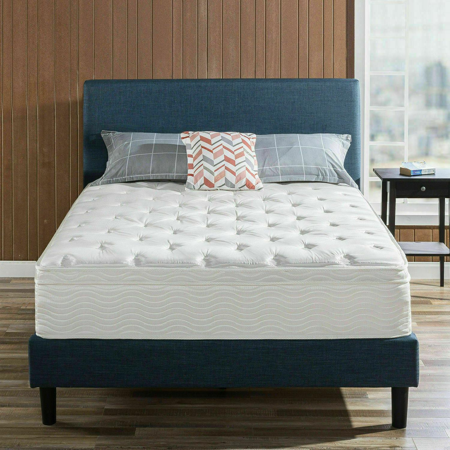 12 inch spring support queen size mattress