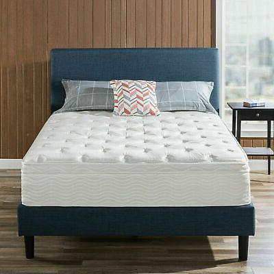 12 inch zinus spring support size mattress