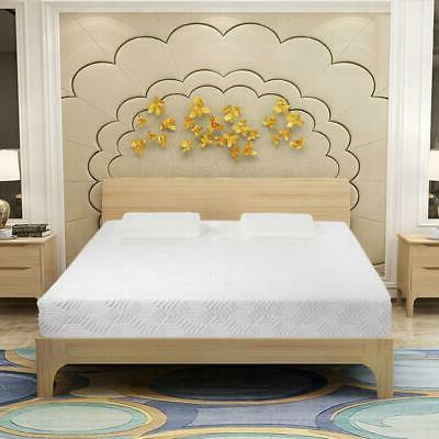 Hot COOL MEDIUM-FIRM Foam Mattress Bed with 2 Free Pillows