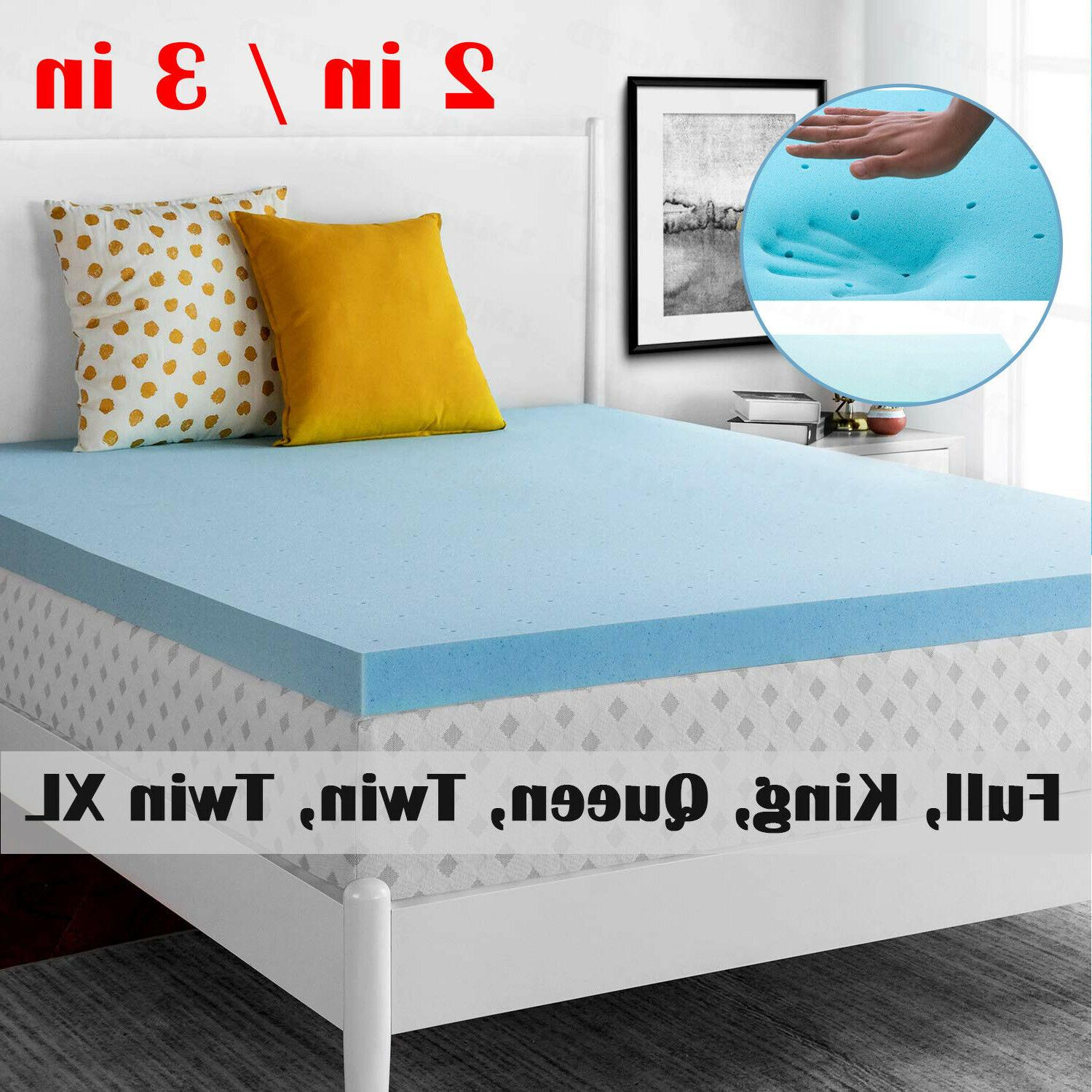 2 3 inch memory foam mattress topper