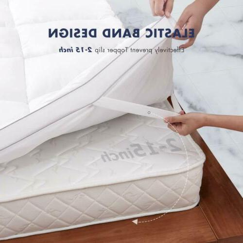 BedStory 2'' Hypoallergenic Down Cover Twin Full