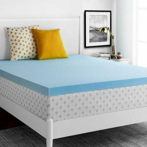 3'' Infused Memory Mattress Topper Soft Pad