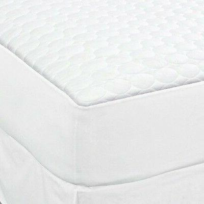 4 twin size white fitted quilted mattress