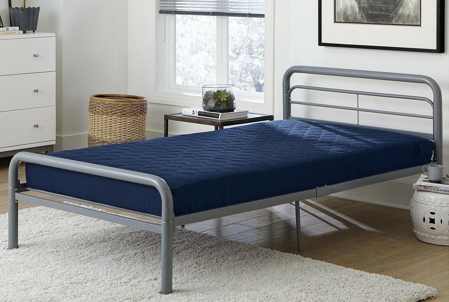6 Bed Mattress And Polyester Navy