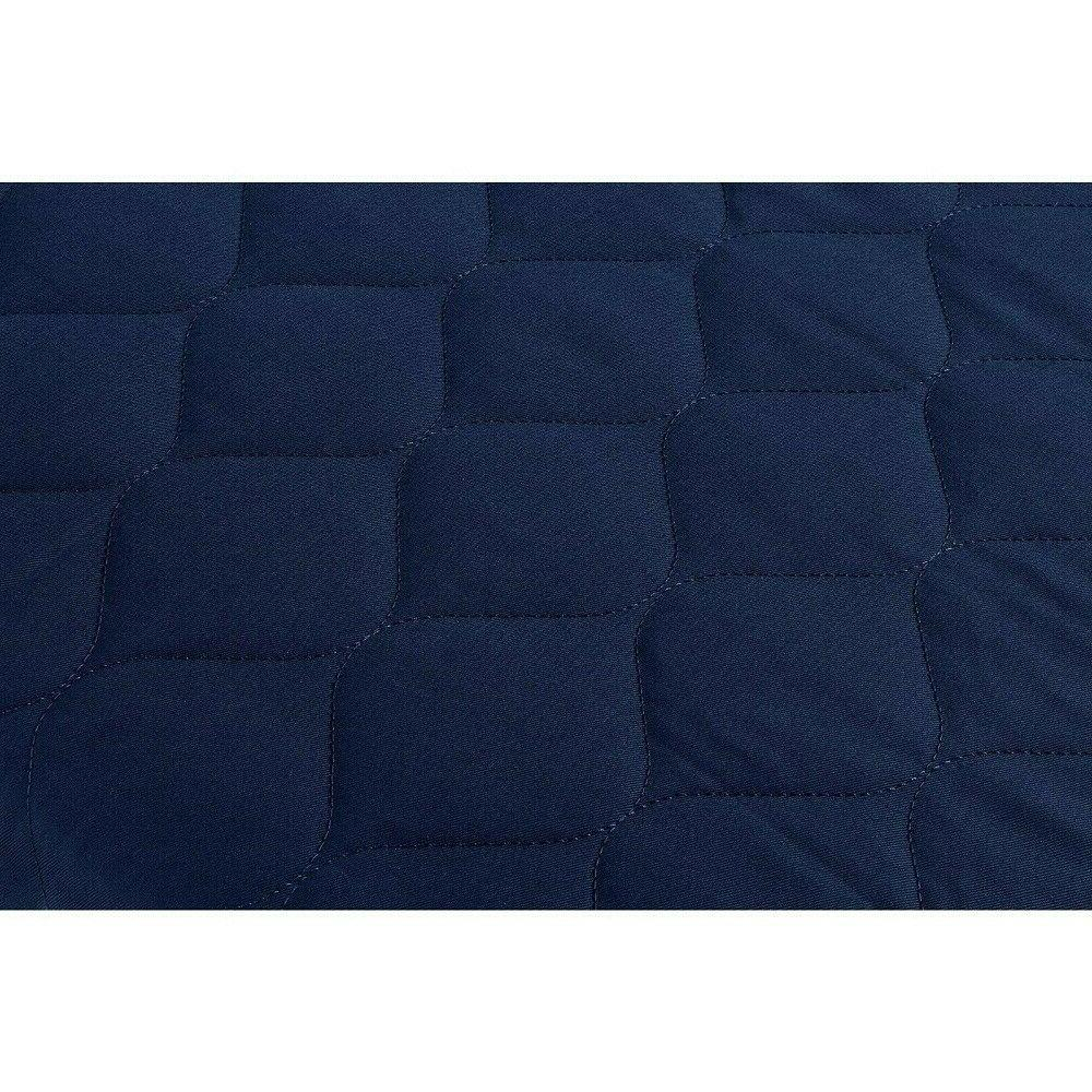 6 Inch Mattress Quilted Top And Polyester Navy New