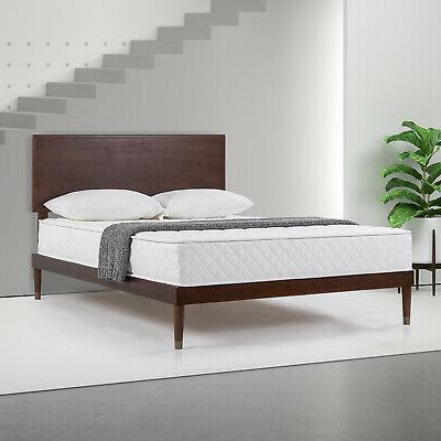 8in spring mattress in a box by
