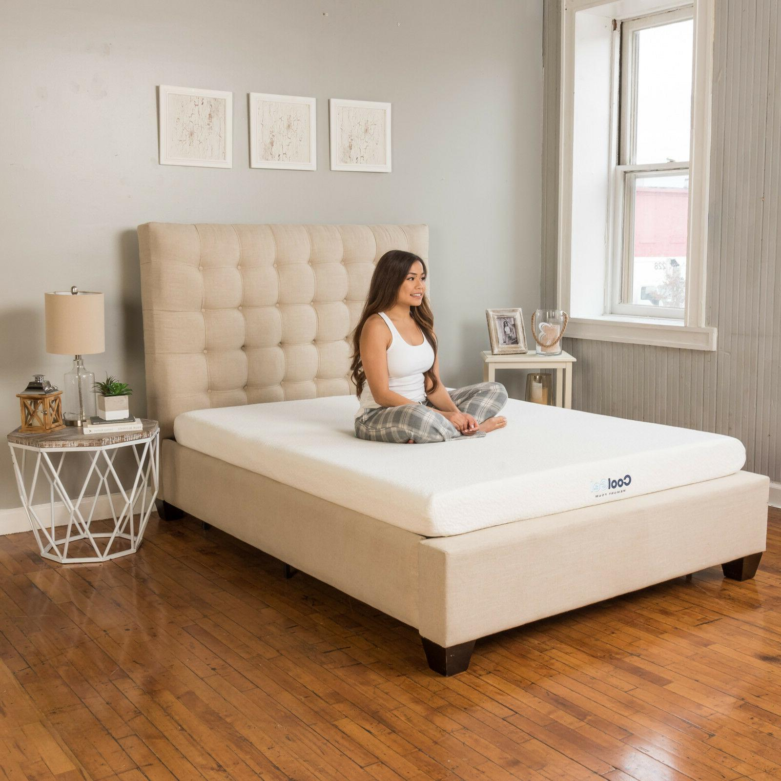 "Classic Brands 6"" Gel Memory Foam Mattress"