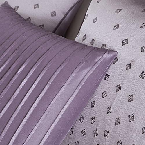 Madison Park Queen Size Bed A Bag - Geometric 7 Pieces Bedding – Ultra Bedroom Comforters