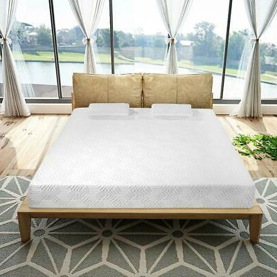 """New 10"""" Inch Traditional Firm GEL Memory Foam Mattress with 2"""
