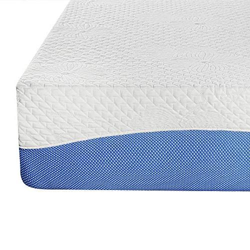 PrimaSleep Gel Infused Memory Foam H, Blue