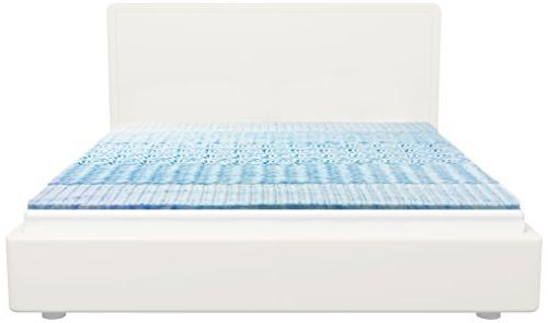 SleepBetter Isotonic Therapure 5 Zone Mattress Topper, Twin