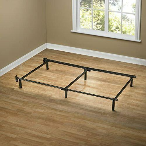 Zinus Michelle Compack 6-Leg Support Bed Frame, for Box Spri