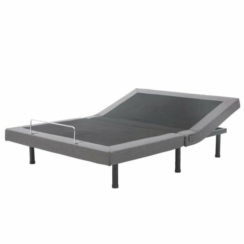 Adjustable Bed Base with Massage Comfort
