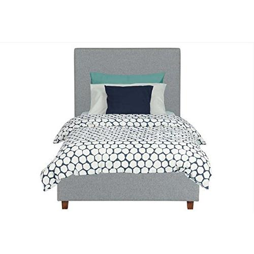 Bed Support, Grey Linen -