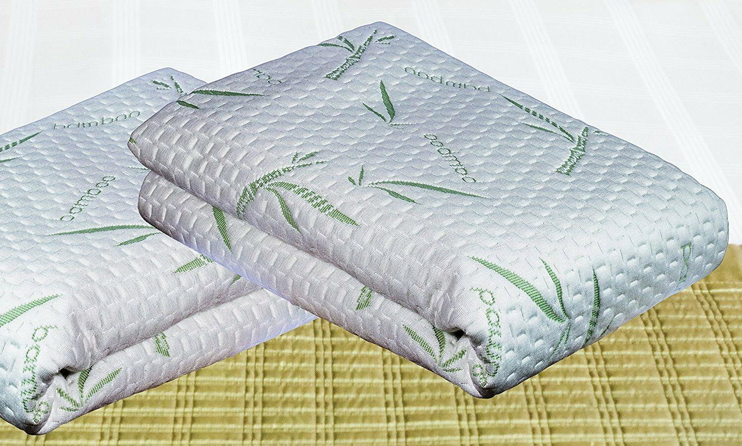 Bamboo Mattress Soft Hypoallergenic Fitted Cover Pad