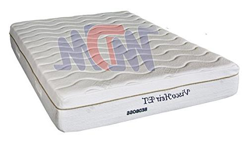 bed boss memory foam mattress
