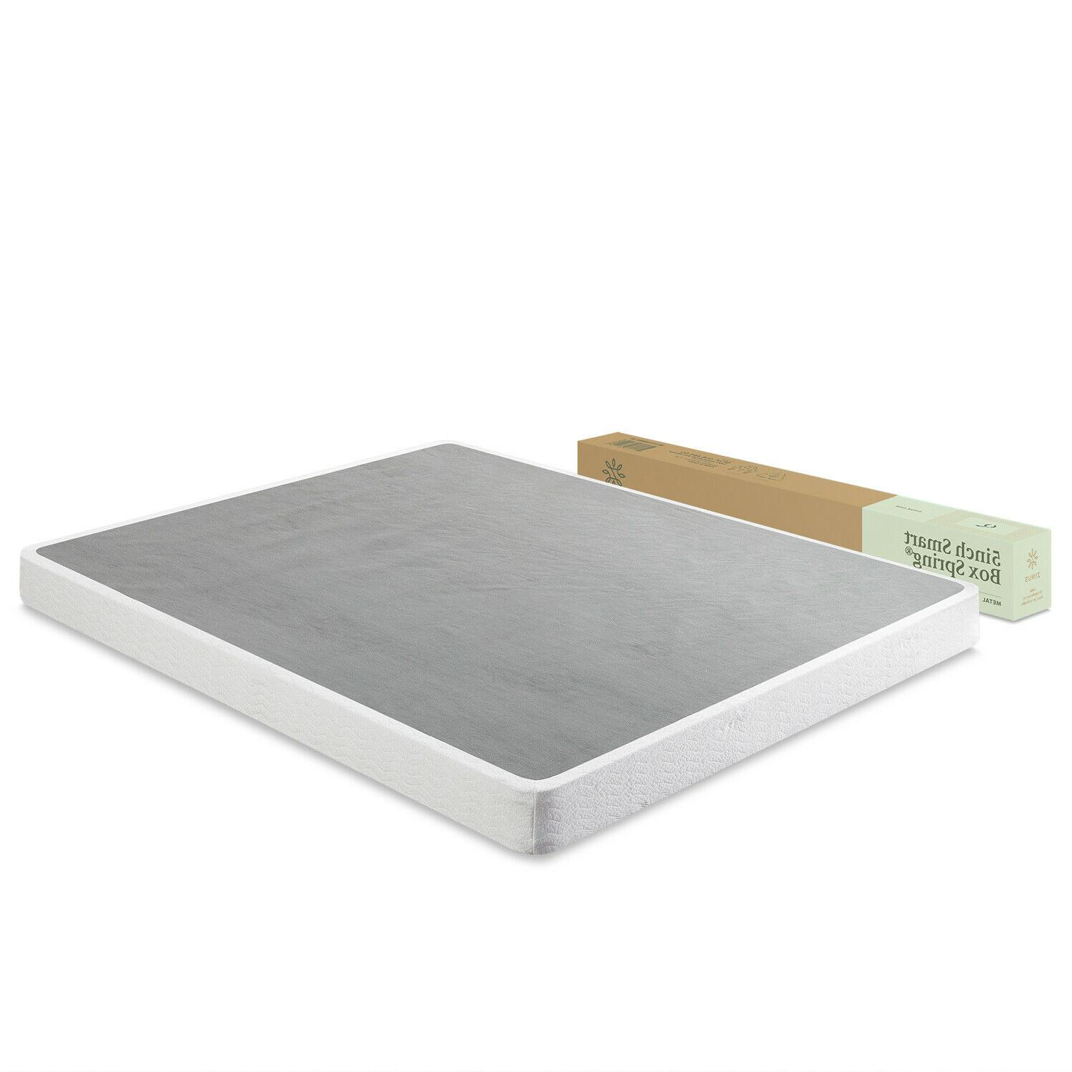 "Box Spring 5"" Low Profile Boxspring For Memory Foam or Mattr"
