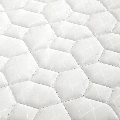 "6"" Innerspring Full Firm Quilted NEW"