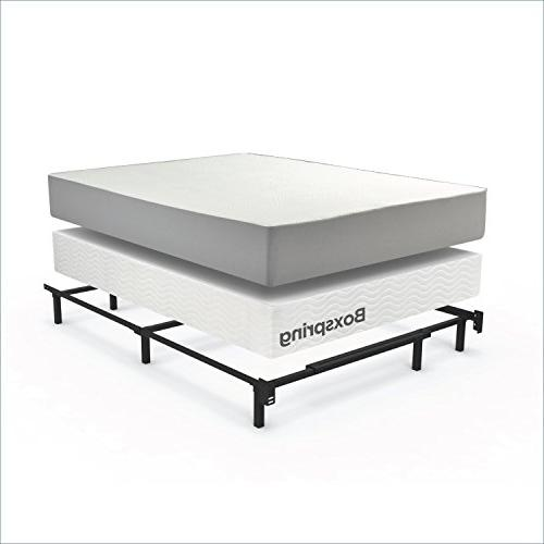 Zinus Michelle Compack Support for Box Spring Mattress Set, Twin