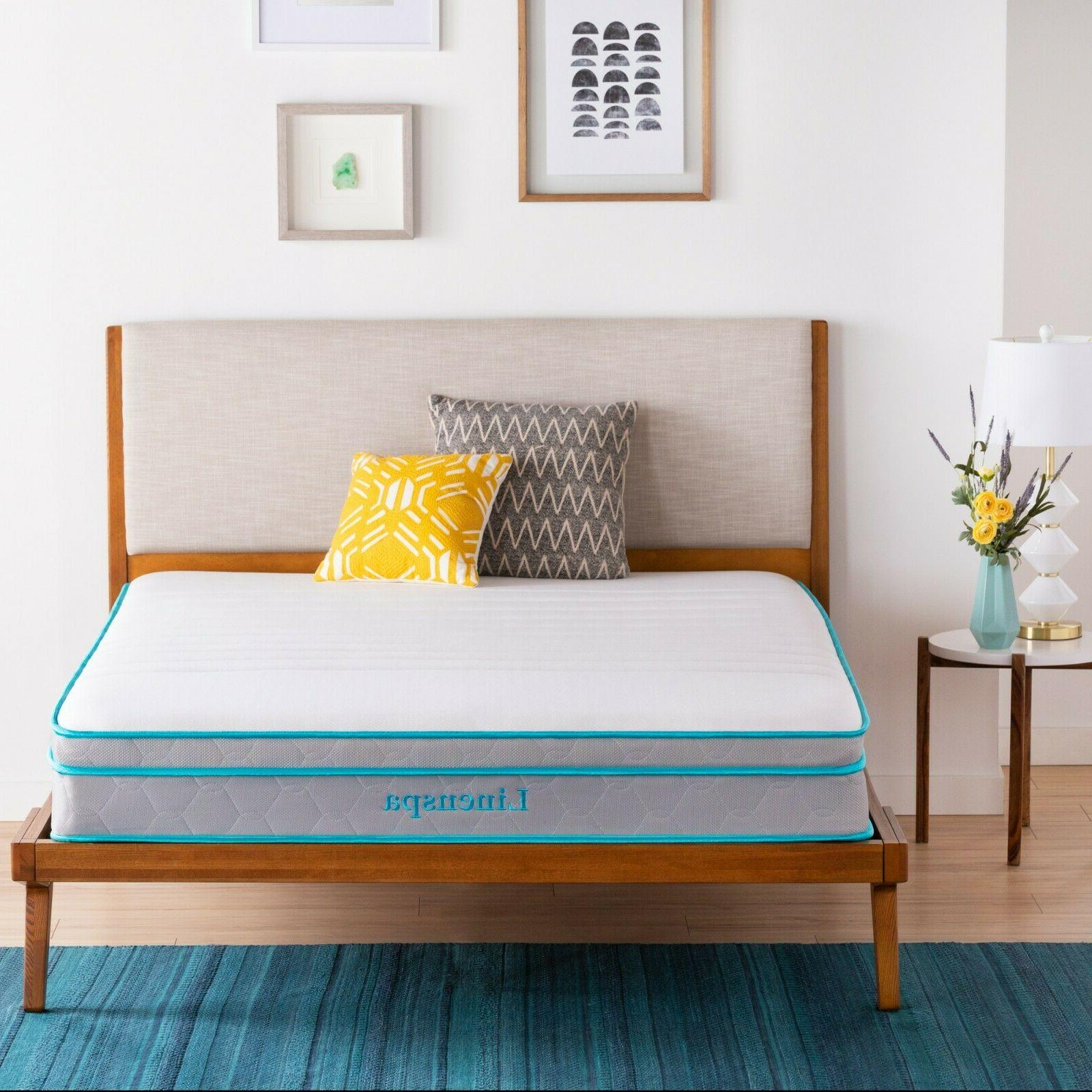 Linenspa 8, 10, and 12 AlwaysCool™ Memory Mattresses