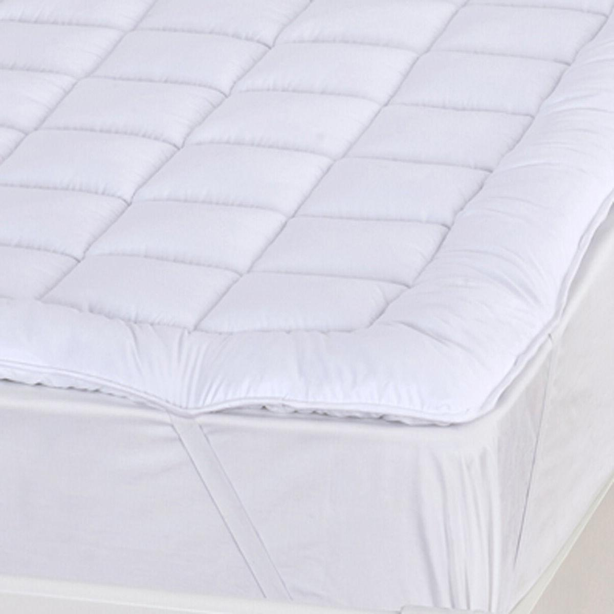 """Extra Soft Plush Overfilled Pad, 2"""" Down Alternative"""