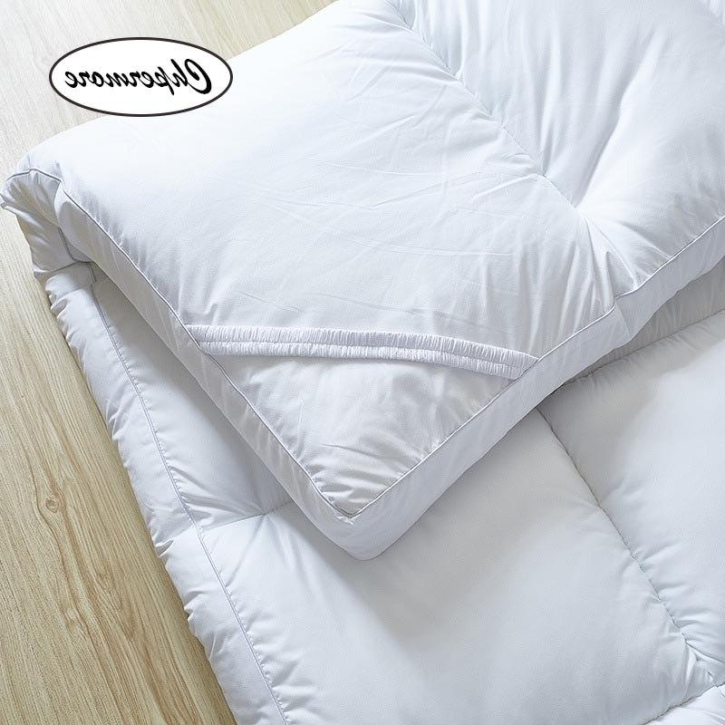 Chpermore five star hotel Thicken Feather velvet Foldable Single double <font><b>Mattresses</b></font> Queen