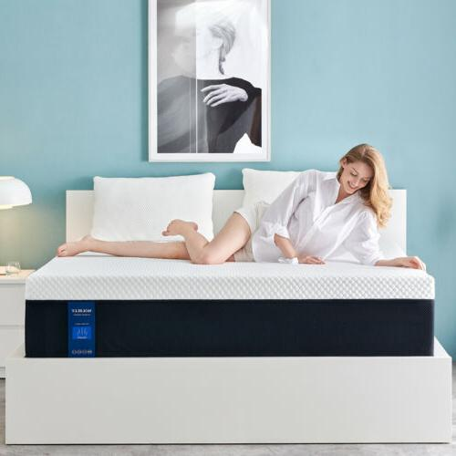 10 inch memory foam mattress with more