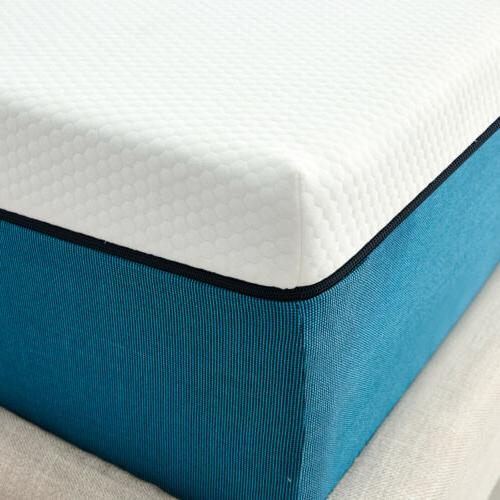 10 Inch Twin Size Memory Foam Mattress With  Pressure Relief