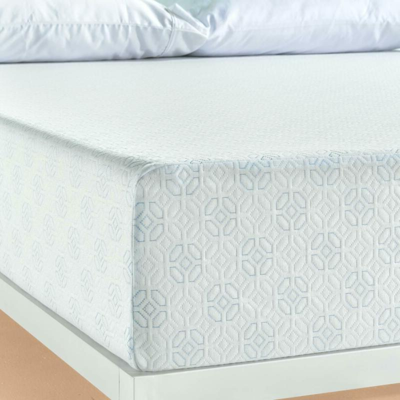 Zinus Gel-Infused Green Memory Foam Inch Twin